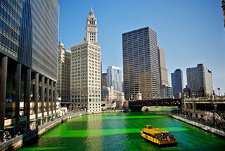St Patrick's Day: Chicago